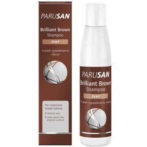 Parusan, Brilliant Brown, Šampon Za Žene, 200ml, Intenzivna Smeđa Boja Kose, Protiv Gubitka Kose