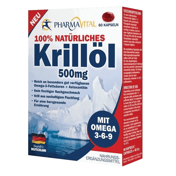 Pharmavital Krill Oil Kapsule 60x500mg