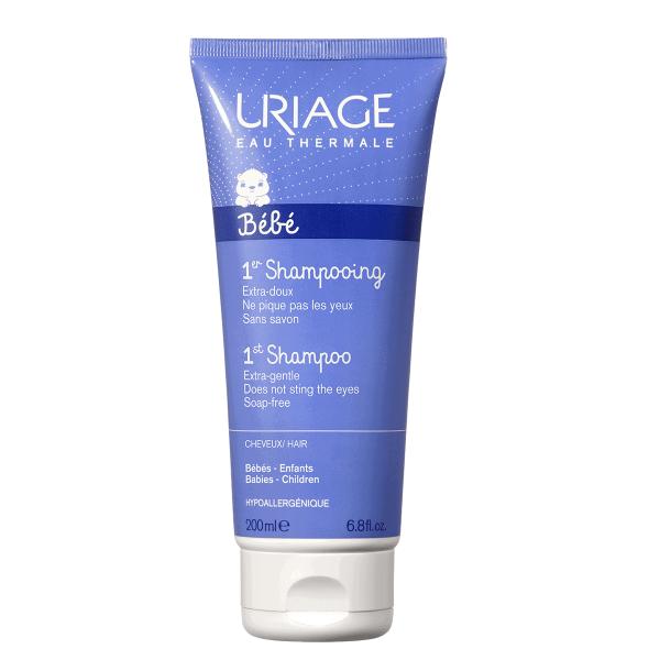 Uriage Bebe Prvi Šampon Za Kosu 200ml Ekstra Nježni Šampon Za Bebe, Bez Sapuna