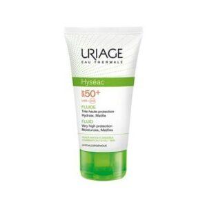 Uriage Hyseac Emulzija Spf 50 50ml Zaštita Od Sunca Mješovite I Masne Kože Sklone Aknama