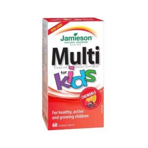 Jamieson Multivitamini I Minerali Za Djecu Bomboni