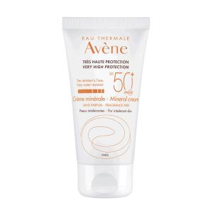 Avene, Mineralna Krema Za Zaštitu Od Sunca, Spf 50+, 50ml