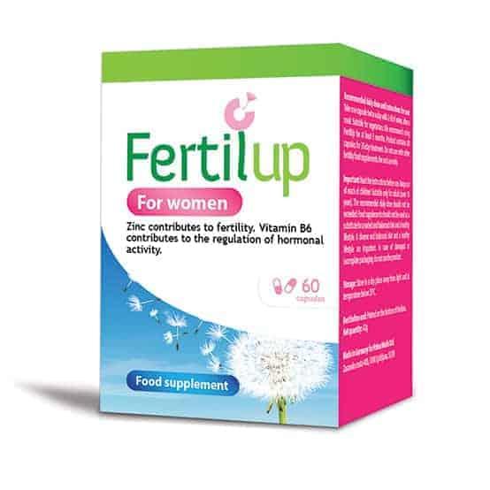 Fertilup Za Žene, 60 Kapsula, Za Plodnost, Hormone, Štitnjaču I Reguliranje Ciklusa