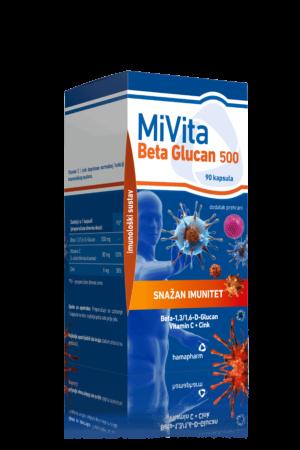 Hamapharm Mivita Beta Glucan 40 Ili 90 Kapsula 4