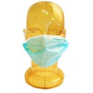 Maske Za Lice Dvoslojne Jedokratne 50 Komada