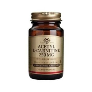 Solgar Acetyl L Carnitine 250 Mg 30 Kapsula
