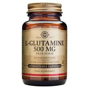 Solgar L Glutamin 500mg 50 Kapsula