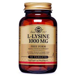 Solgar L Lizin 1000mg 50 Tableta Za Sintezu Proteina U Organizmu