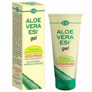 Aloe Vera Gel S Vitaminom E I Uljem Cajevca Esi