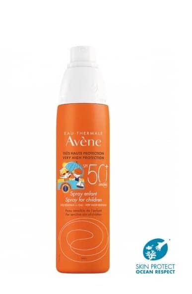 Avene Sun Sprej Za Zaštitu Od Sunca Spf 50 Za Osjetljivu Dječju Kožu 200ml 2