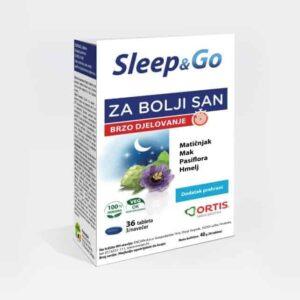Encian Sleep&go 36 Tableta Protiv Nesanice