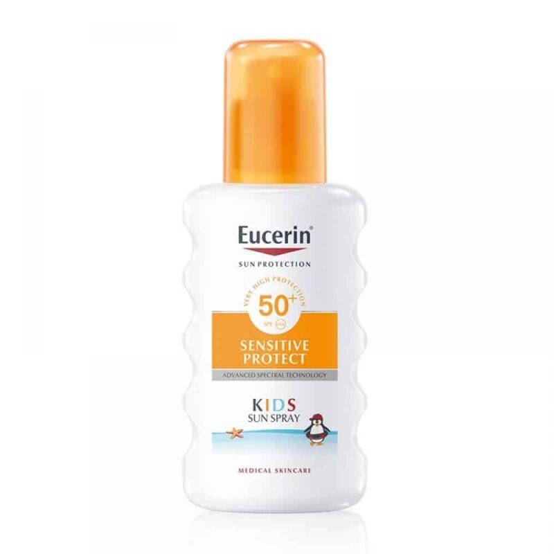 Eucerin Sensitive Protect Kids Sprej Za Zaštitu Dječje Kože Od Sunca Spf 50+ 200ml 1