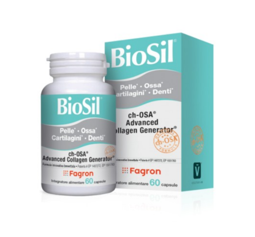 Fagron Biosil 60 Kapsula Advanced Collagen Generator I Vitamin C