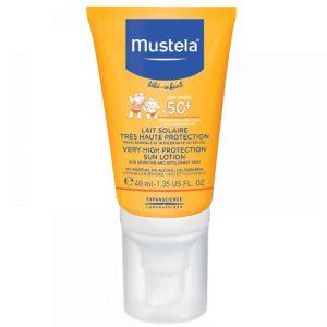 Mustela Sun Visoka Zaštita Od Sunca Za Bebinu Kožu Spf50+ 40ml
