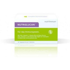 Nutrimmun Nutriglucan Beta Glukan + Vitamin C, B6 I Cink Za Imunološki Sustav 90 Tableta