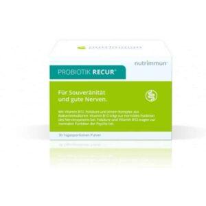 Nutrimmun Recur Probiotik Za Opuštanje 30 Vrećica Folna Kiselina I Vitamin B12