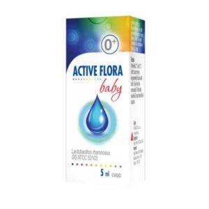 Active Flora Baby 5ml Probiotske Kapi Bazirane Na Maslinovom Ulju Bez Aditiva