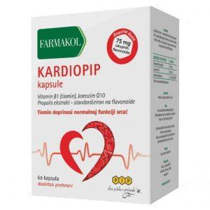 Farmakol Kardiopip 60 Kapsula Za Normalnu Funkciju Srca