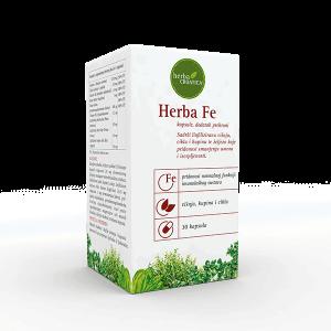 Herba Croatica Herba Fe Željezo 30 Kapsula
