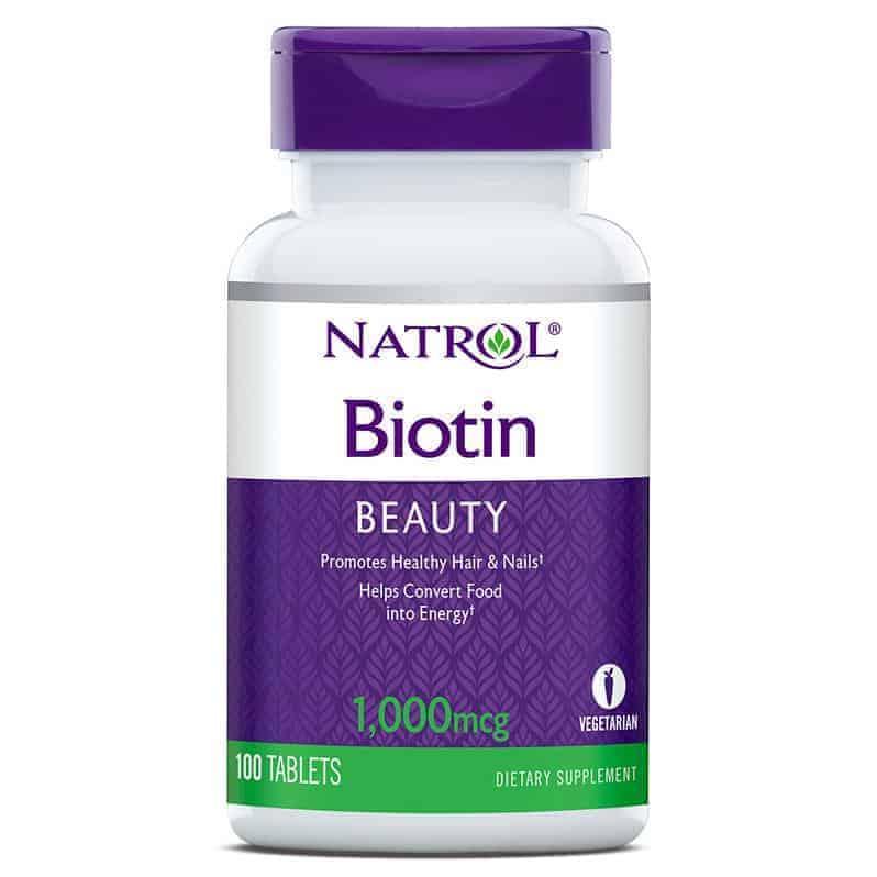 Natrol Biotin 100 Tableta Za Zdravu Kosu, Kožu I Nokte