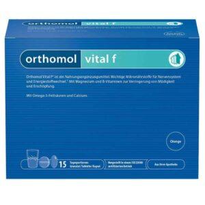 Orthomol Vital F 15 Ili 30 Granula Smanjenje Umora Za Žene