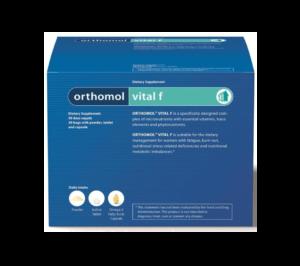 Orthomol Vital F, 15 Ili 30 Granulata Ili Bočica, Smanjenje Umora, Za Žene
