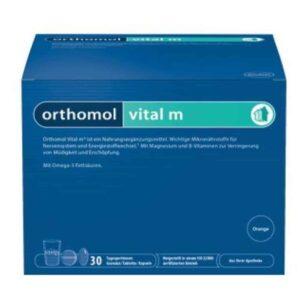 Orthomol Vital M 15 Ili 30 Granula Smanjenje Umora Za Muškarce