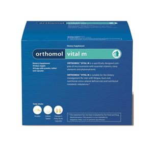 Orthomol Vital M, 15 Ili 30 Granulata Ili Bočica, Smanjenje Umora, Za Muškarce 1