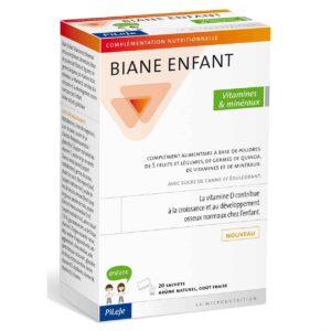 Pileje Biane Enfant 20 Vrećica Vitamini I Minerali Za Djecu Iz 5 Vrsta Voća I Povrća