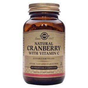 Solgar Brusnica Ekstrakt S Vitaminom C 60 Kapsula