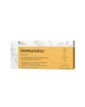 Immundoc Direkt Za Jačanje Imuniteta, 6x10 Ml, Vitamin C, Selen I Cink