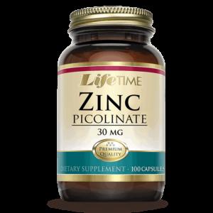 Lifetime Cink Pikolinat, 30mg, 100 Kapsula