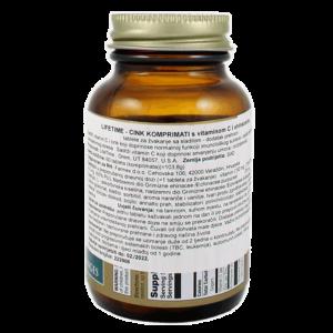 Lifetime Cink, Vitamin C I Echinacea, 60 Tableta Za Žvakanje 2