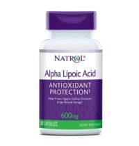 Natrol Alfa Lipoična Kiselina 30 Kapsula X 600mg Za Produljenje Životnog Vijeka 1