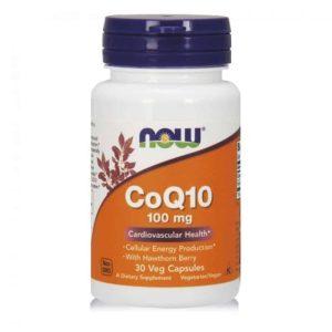 Now Foods Coq10, 30 Kapsula, Za Održavanje Svih Bioloških Procesa U Organizmu