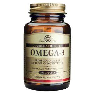 Solgar Omega 3 Double Strength 1200mg 30 Kapsula + Epa 360mg, Dha 240mg