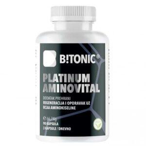 Btonic Platinum Aminovital, 90 Kapsula, Bcaa Aminokiseline Za Sportski Oporavak