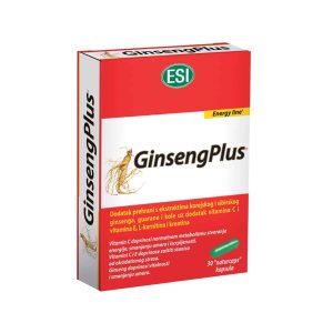 Esi Ginseng, 30 Kapsula, S Vitaminima C I E, L Karnitinom, Kreatinom