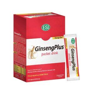 Esi Ginsengplus, 16 Vrećica, Pocket Drink Guarana, Kola I Ginseng