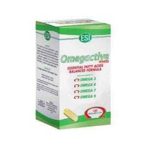 Esi Omegactive Vegan,120 Kapsula, Omega 3 6 7 9