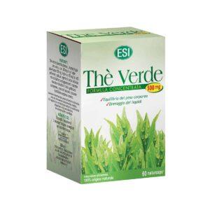Esi Zeleni Čaj 500mg, 60 Kapsula, Potiče Budnost, Koncentraciju I Sagorijevanje Kalorija
