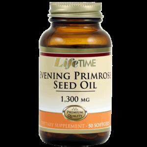 Lifetime Primrose Seed Oil, 1300mg, 50 Kapsula, Ulje Sjemenki Noćurka