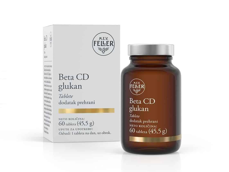 M.e.v. Feller Beta Cd Glukan Za Jačanje Imuniteta 60 Tableta 2 2