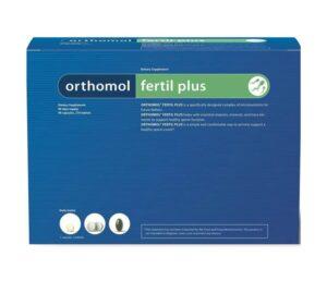 Orthomol Fertil Plus, 30 Ili 90 Dnevnih Doza, Za Plodnost Muškarca
