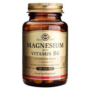 Solgar Magnezij I Vitamin B6, 100 Tableta