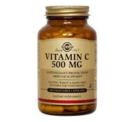 Solgar Vitamin C 500mg, 100 Kapsula, Za Smanjenje Iscrpljenosti