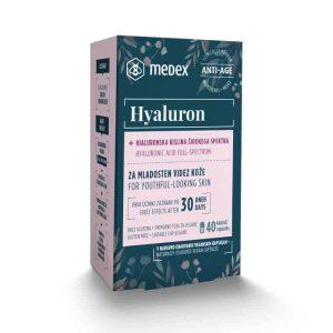 Medex Hyaluron, 200mg, 40 Kapsula, Hijaluronska Kiselina U Kapsuli