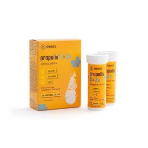 Medex, Propolis + Vitamin C + Cink, 20 Šumećih Tableta, Za Snagu I Oporavak (copy)