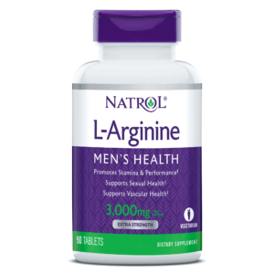 Natrol, L Arginine, 90 Tableta, Performanse, Cirkulacija I Seksualno Zdravlje Muškarca