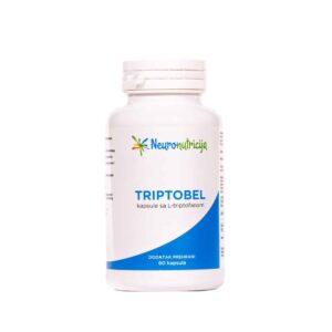 Neuronutricija, Triptobel, 60 Kapsula, S L Triptofanom, Za Povećanje Serotonina